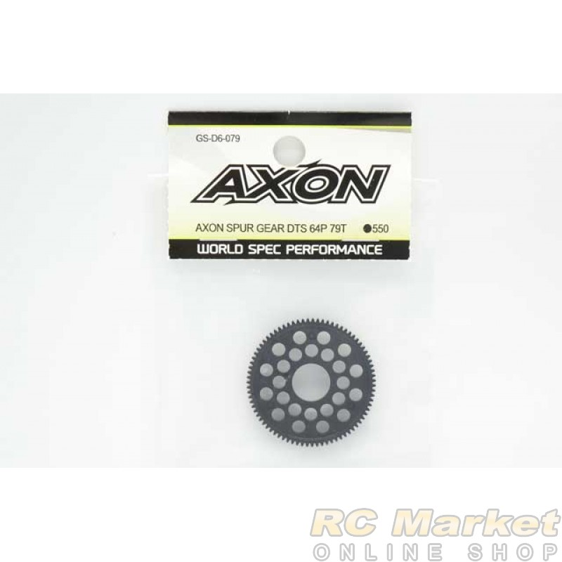 AXON GS-D6-079 Spur Gear DTS 64P 79T