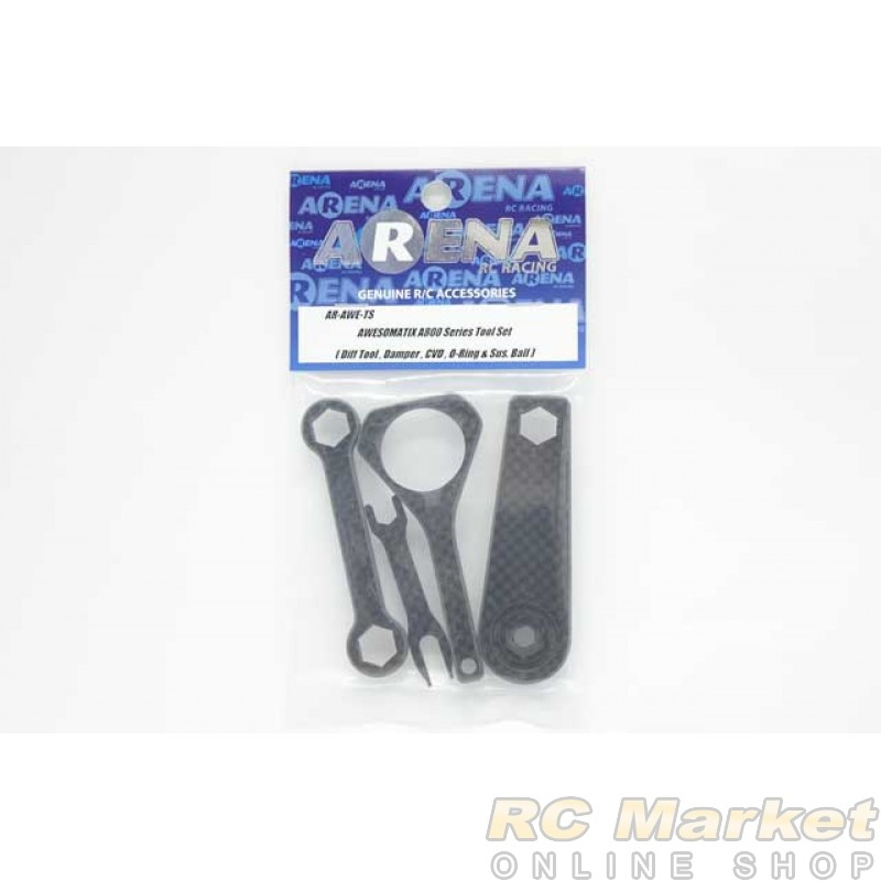 ARENA AWE-TS AWESOMATIX A800 Series Tool Set (Diff Tool , Damper , CVD , O-Ring & Sus. Ball)