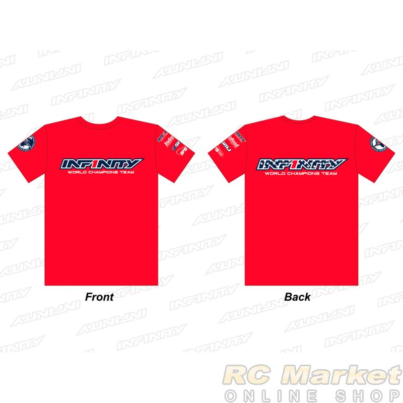 "INFINITY A0070-RD-M 2019 Team ""U.S.A."" T-Shirt (RD) M Size"