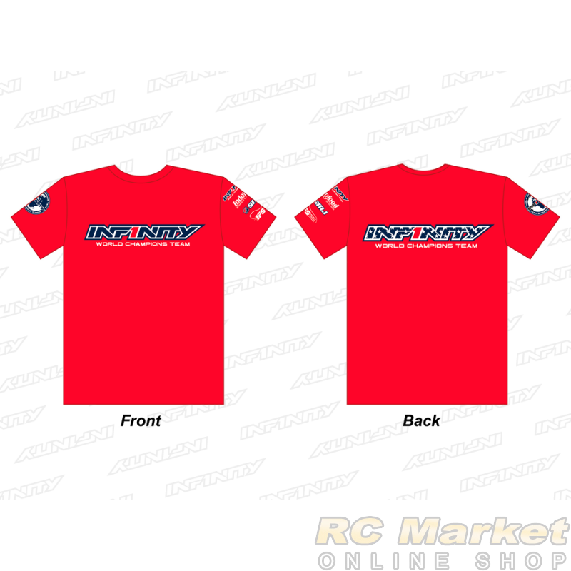 "INFINITY A0070-RD-3XL 2019 Team ""U.S.A."" T-Shirt (RD) 3XL Size"