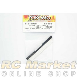 YOKOMO B10-BW20 Center Balance Weight (20g) for BD10