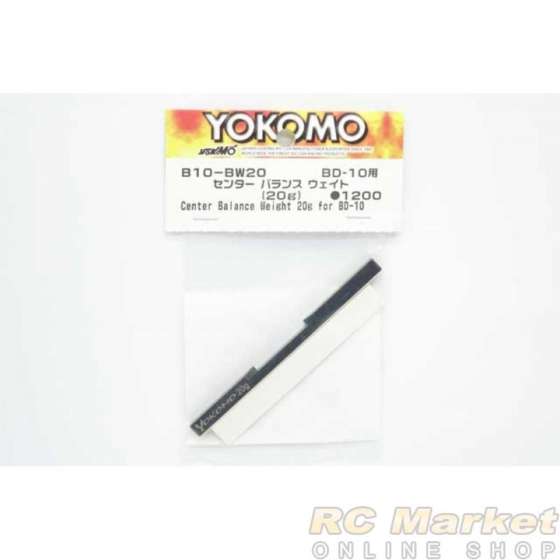 YOKOMO B10-BW20 Center Balance Weight (20g) for BD10