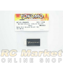 YOKOMO B10-BWM5 Motor Slit Balance Weight (6g) for BD-10