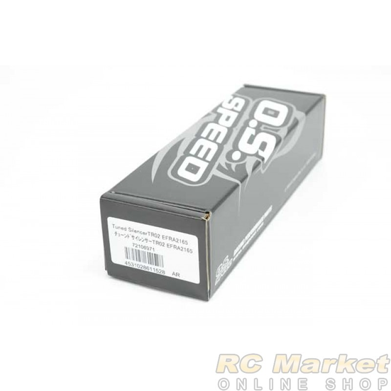 O.S. SPEED 72106971 Tuned Silencer TR02 EFRA2165