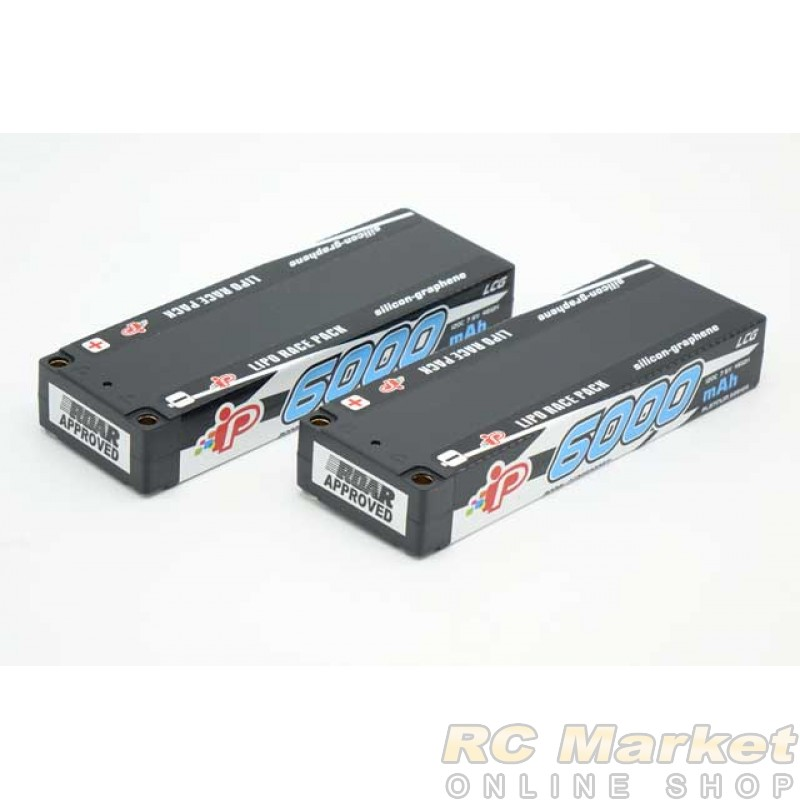 INTELLECT CC2S6000PT1 Lipo 7.6V 6000mAh 120C LCG Stick LiHV x 2Pack