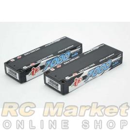 INTELLECT CC2S7000PT1 Lipo 7.6V 7000mAh 120C LCG Stick LiHV x 2Pack