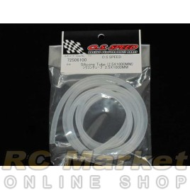 O.S. SPEED 72506100 Silicone Tube (2.5x1000mm)