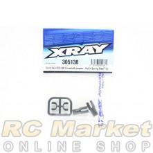 XRAY 305138 Solid Axle ECS BB Driveshaft Adapter - Hudy Spring Steel™ (2)