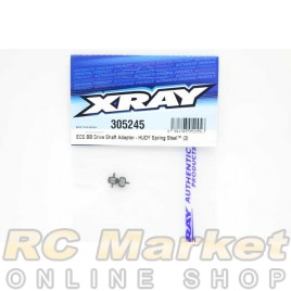 XRAY 305245 ECS BB Drive Shaft Adapter - Hudy Spring Steel™ (2)