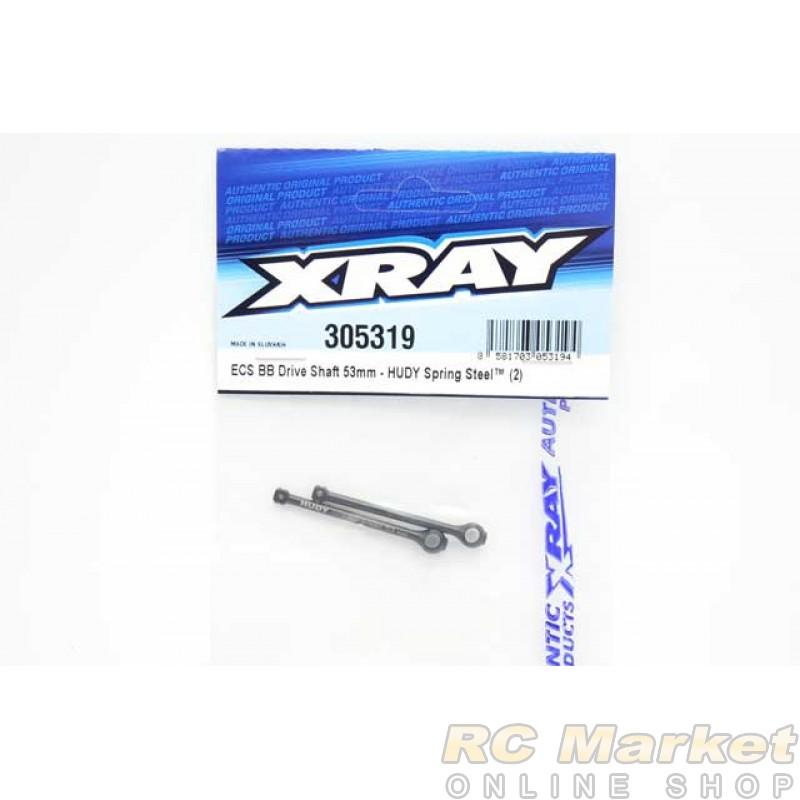 XRAY 305319 ECS BB Drive Shaft 53mm - Hudy Spring Steel™ (2)