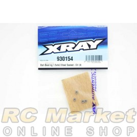 XRAY 930154 Ball-Bearing 1.5x4x2 Steel Sealed - Oil (4)