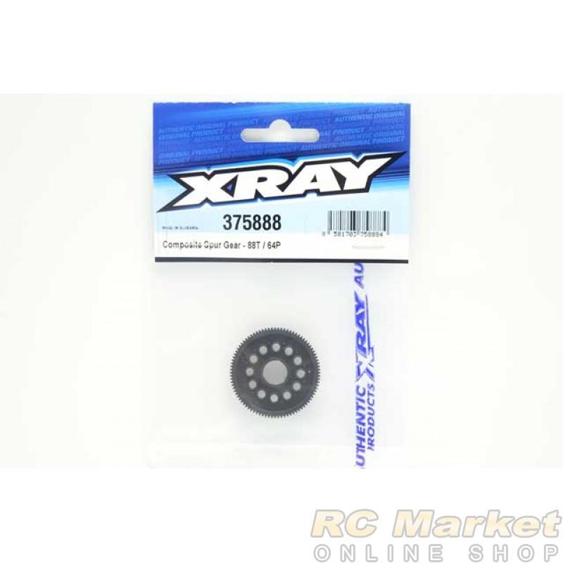 XRAY 375888 X12 Composite Spur Gear - 88T/64P