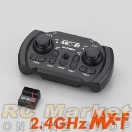 KO PROPO 80710 MC-8 2.4GHz MX-F TR set (w/MR-8)