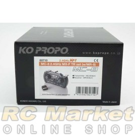 KO PROPO 80710 MC-8 2.4GHz MX-F TR set (w/MR-8)