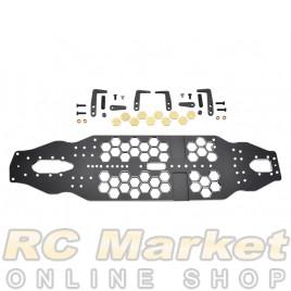 ARROWMAX 950002 Xray T4'20 Alu Honeycomb Chassis Set