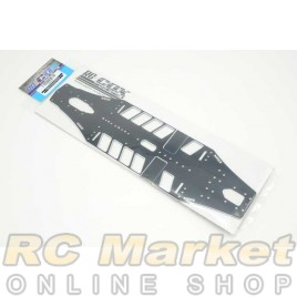 RC-COX CXR-049 2.0mm 7075-T6 Alu High Flex Chassis (For Xray T4'20)