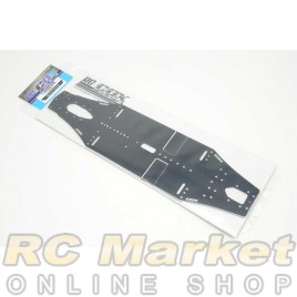 RC-COX CXR-050 2.0mm 7075-T6 Alu Low Flex Chassis (For Xray T4'20)