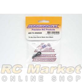 ARROWMAX T4-302525 T4 Aiu Dual Servo Saver Arm Black