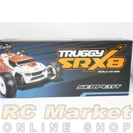 SERPENT 600059 SRX8 Truggy GP 1/8 4WD (Free Shipping)