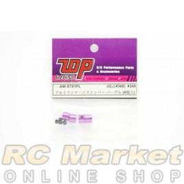 TOP AW-ST01PL Stopper - Purple (4 pcs)