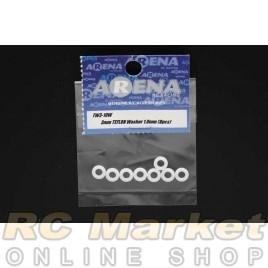 ARENA TW3-10W 3mm TEFLON Washer 1.0mm (8pcs)