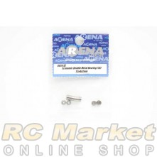ARENA 681X/ZZ 1.5x4x2mm Economic Double Metal Bearing (10)