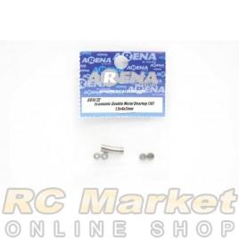 ARENA 681X/ZZ 1.5x4x2mm Economic Double Metal Bearing (10)