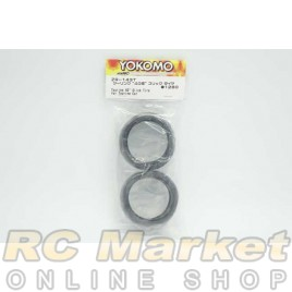 YOKOMO ZR-143T Touring 40° Slick Tires for Touring Car