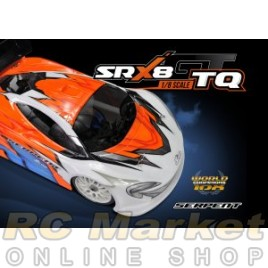 SERPENT 600063 SRX8 GT TQ 4WD 1/8 GP (Free Shipping)