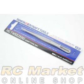 TAMIYA 74155 HG Tweezers (Grip Type Tip )