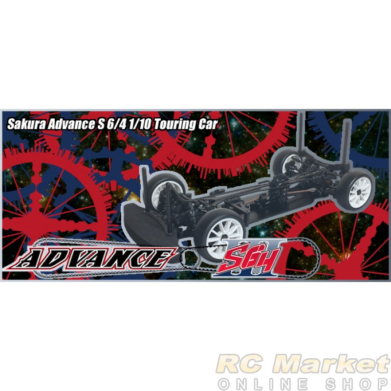 3RACING Sakura Advance S 6/4 1/10 Touring Car