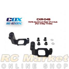 RC-COX CXR-045 7075 Aluminum Rear 0° C Hub (For Xray T4'20)