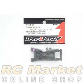 INFINITY T164-SH IF14-2 Rear Suspension Arm (Graphite/Super Hard)