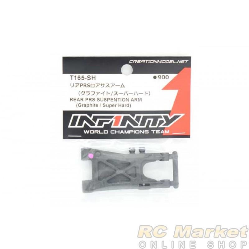 INFINITY T165-SH IF14-2 Rear PRS Suspension Arm (Graphite/Super Hard)