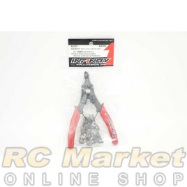 INFINITY A0101 Snap Ring Pliers (Internal and External/10-50mm)