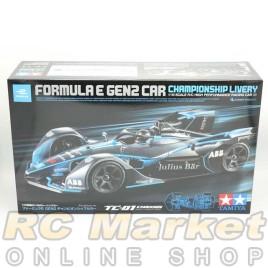TAMIYA 58681 Formula E Gen2 Car Championship Livery (TC-01 Chassis) (Free Air Parcel)