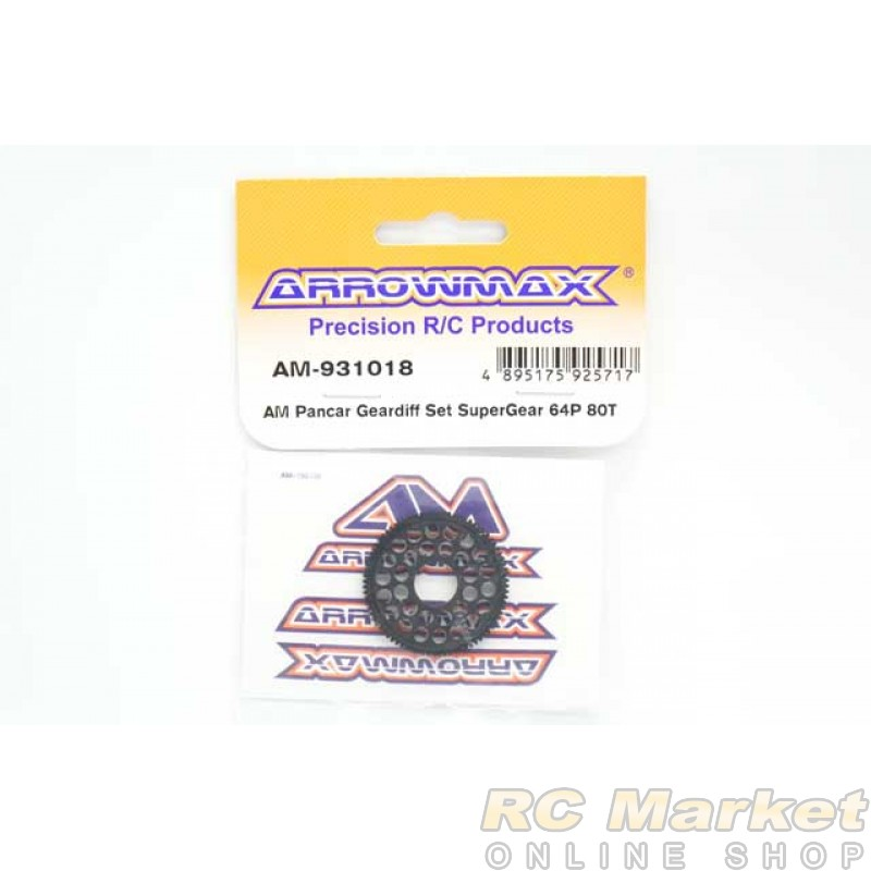 ARROWMAX 931018 AM Pancar Geardiff Set Super Gear 64P 80T