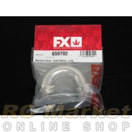 FX Engines 659702 Manifold 3.5ccm - Small Radius - Long
