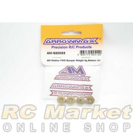 ARROWMAX 920053 Medius FWD Bumper Weight 5g Bottom (4)
