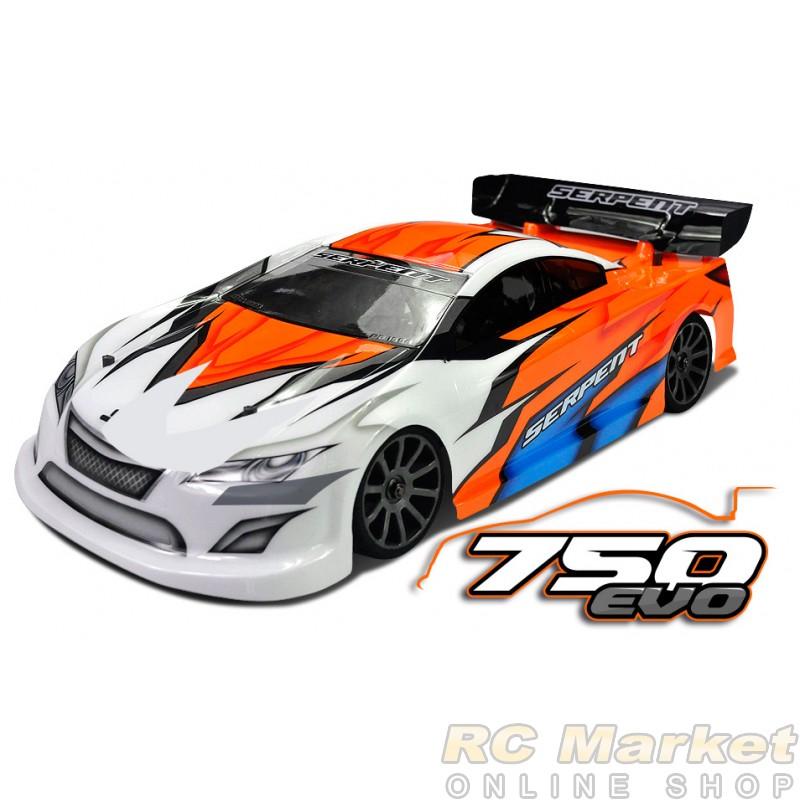 SERPENT 804012 Natrix 750 EVO 4wd 1/10 GP (Free shipping )