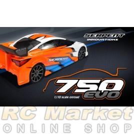 SERPENT 804012 Natrix 750 EVO 4wd 1/10 GP (Pre-Order) (Free shipping )