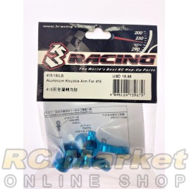 3RACING 416-18/LB Aluminium Knuckle Arm For 416