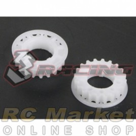 3RACING SAK-07C Center Pulley Set 22T For Sakura Zero