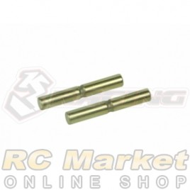 3RACING FGX-328 Suspension Outer Titanium Coated Pin Set For Sakura FGX