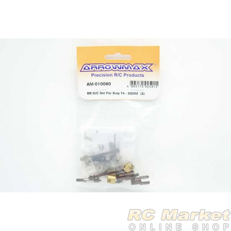 ARROWMAX 010060 BB DJC Set For Xray T4 - 52mm (2)