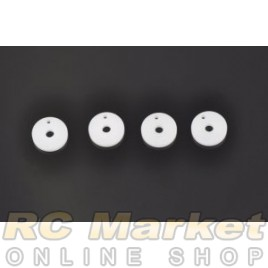 SERPENT 160117 Shock Piston RCM Machined 1-Hole (4)