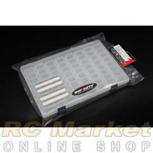INFINITY A0077-8 Small Parts Case (8 Compartments / 8 pcs)