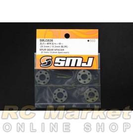SMJ SMJ3536 Spur Gear Spacer (0.1mm / 0.2mm 2 pcs each)