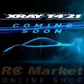 XRAY 300029+ T4'21 Spec 1/10 Luxury Electric TC ALU FLEX Chassis (Free Shipping) (Pre-order)