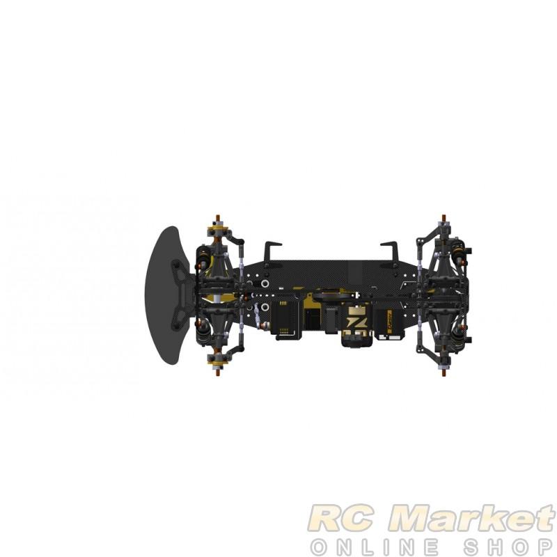 SERPENT 400037 Medius X20 '21 Carbon 1/10 EP (Free Air Parcel)